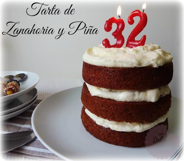 Tarta de Zanahoria y Piña (Carrot and Pineapple cake)