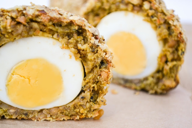 Vegetarian Picnic Eggs