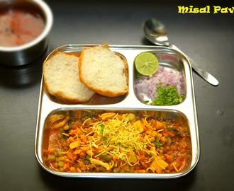 Hebbar S Kitchen Misal Pav