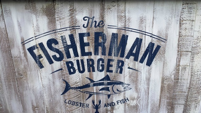 THE FISHERMAN BURGER: IL MARE IN RIVA AL TEVERE