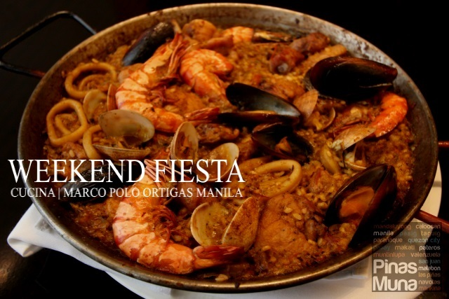 Weekend Fiesta at Cucina, Marco Polo Ortigas Manila