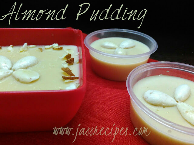 Almond Pudding / Badam Pudding