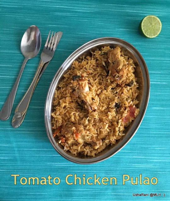 Dhaba Style Chicken Pulao | Tomato Chicken Pulao | Hyderabadi Street Side Chicken Pulao | Simple Chicken Pulao Without Onions | Easy Murgh Pilaf | 20 Chicken Biryani Recipes