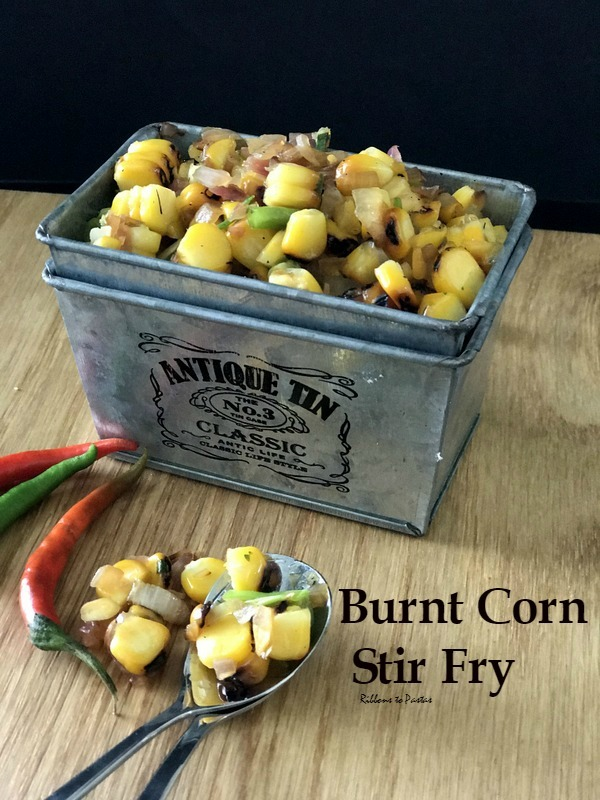 Burnt Corn Stir Fry