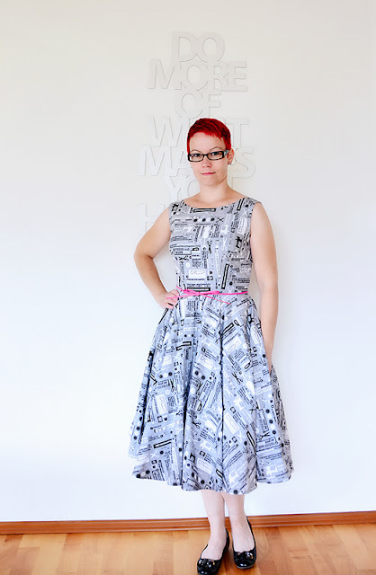 Betty Dress von Sew Over It | Nähnerdversion (yay!)