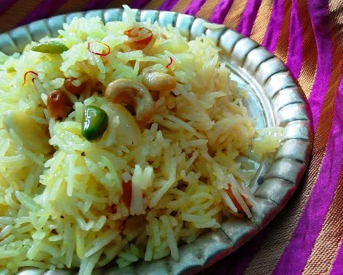 Flavoured Sweet Rice (Meethe Chawal)