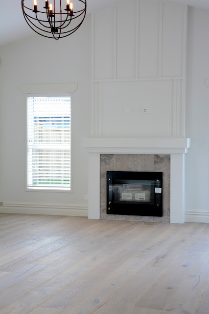 Update on my Beach House- The Feature Fireplace