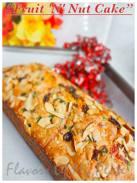 Fruit 'N' Nut Cake......Christmas Special