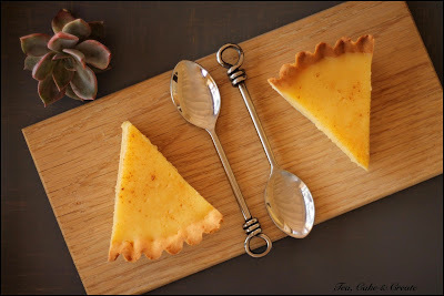 Milk Tart (Easy!)