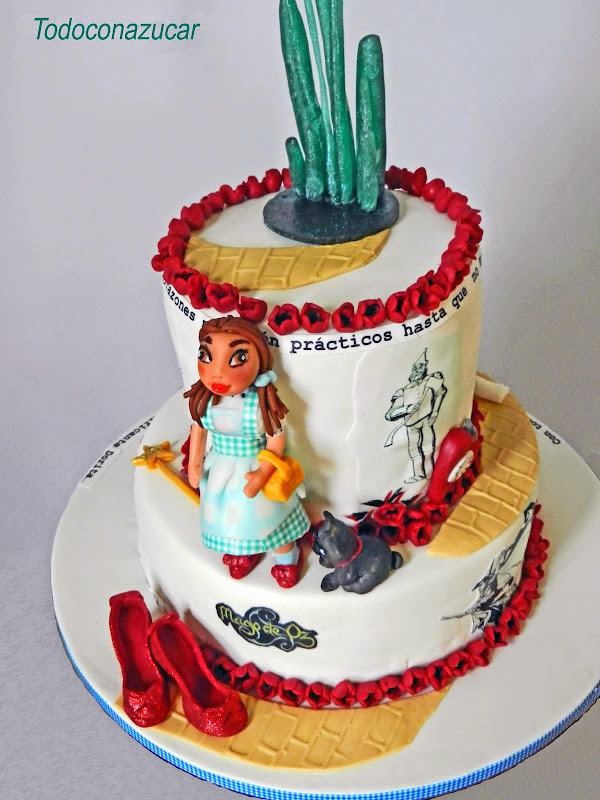 TARTA DEL MAGO DE OZ  (The Wizard of Oz)