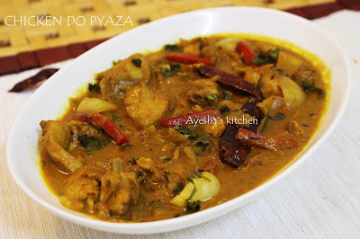 EASY CHICKEN RECIPES FOR DINNER - CHICKEN DO PYAZA
