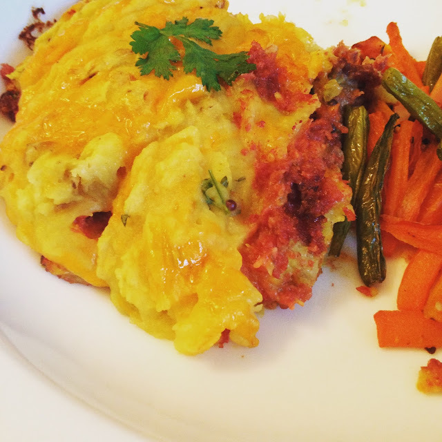 Curried Corned Beef Hash - Low #FODMAP