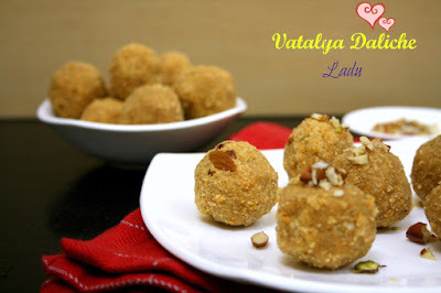 Vatalya Daliche Ladu | How to make Channa Dal Ladoo