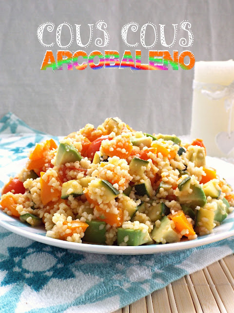 Cous cous arcobaleno