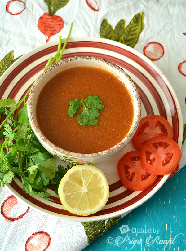Tomato Coriander Soup | Easy Indian Weightloss Soup Recipe