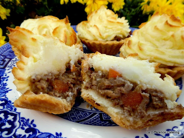Mini Cottage Pies with Duchess Potatoes
