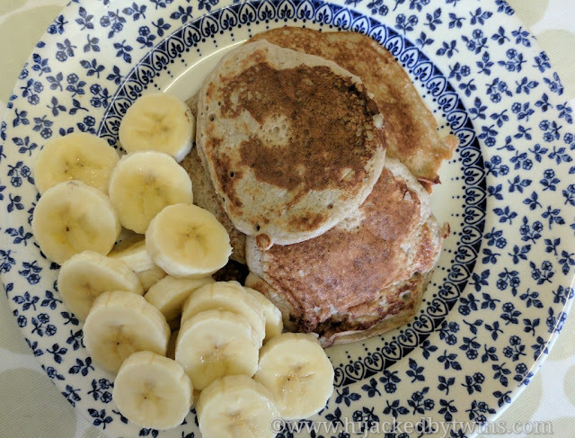 Gluten and Dairy Free Banana Pancakes (Low FODMAP and Low Syn)