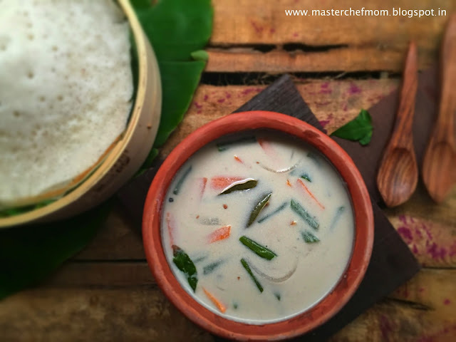 Kerala Special Vegetable Stew | How to make Vegetable Stew | Stepwise Pictures | Quick and Easy Recipe | Vegan and Gluten Free Recipe