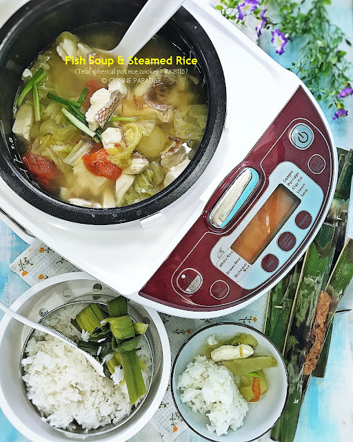 [recipes + videos] 3 One Pot Meal with Tefal Advanced Spherical Pot Rice Cooker