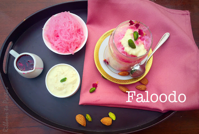F - Faloodo  /Indian Frozen Desert served with Vermicelli