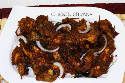 CHICKEN RECIPES - CHICKEN CHUKKA / CHICKEN SUKKA RECIPE