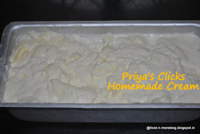 Recipe : Fresh Cream | how to make fresh cream OR Malai at home