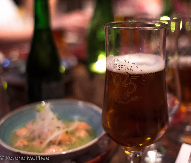 Food Pairings, Alhambra Reserva 1925 at Coya London
