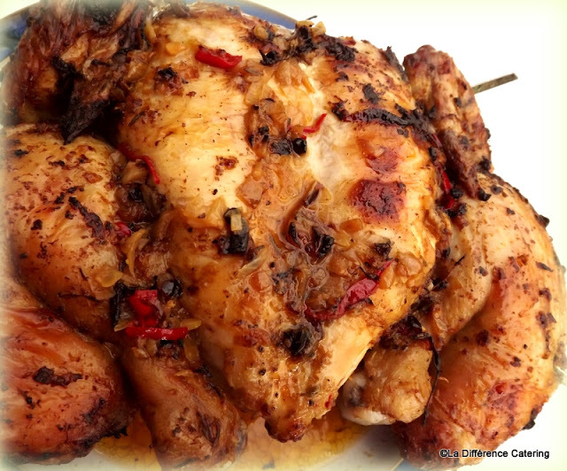 Lemon & Cumin Spatchcock Chicken