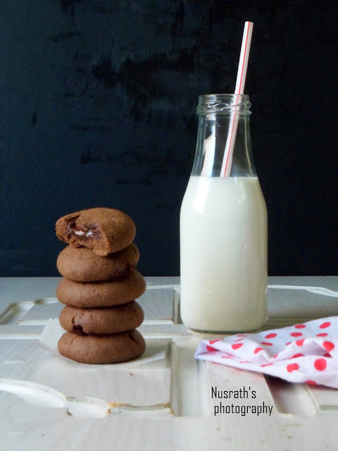 Chocofill cookies|Cookies filled with chocolate