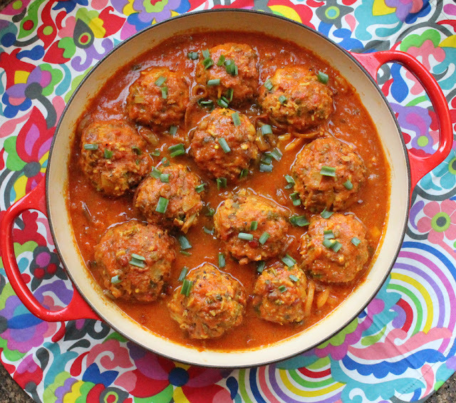 Persian Lamb Meatballs #SundaySupper
