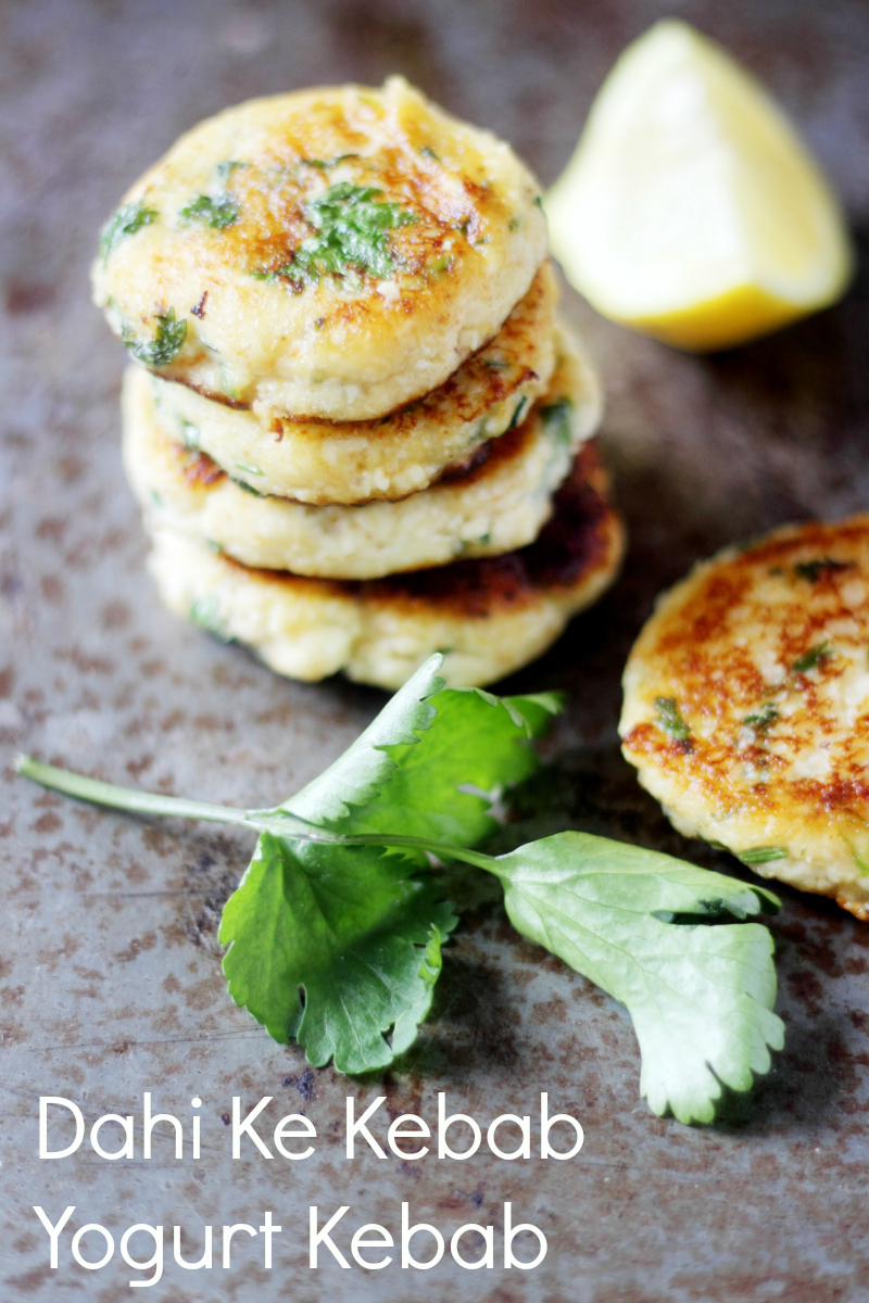 Dahi Ke Kebabs:Yogurt Kebabs:Yogurt Patties