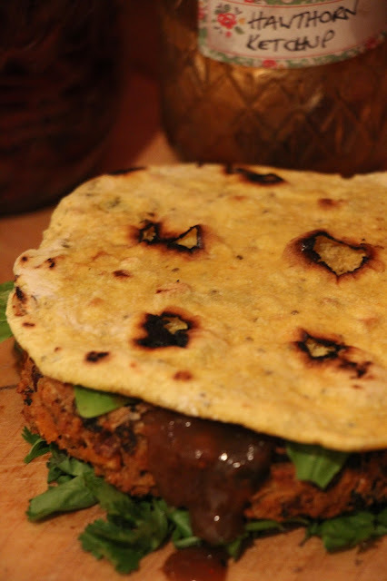 THE BEST EVER SPICY MEXICAN BEAN BURGER