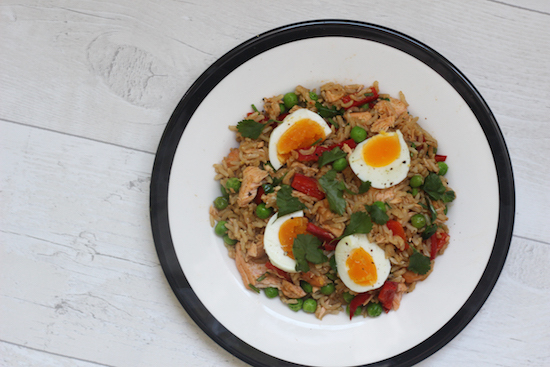 salmon kedgeree.
