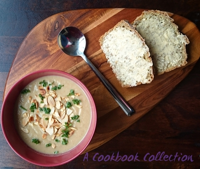 Roasted Cauliflower and Ras el Hanout Soup
