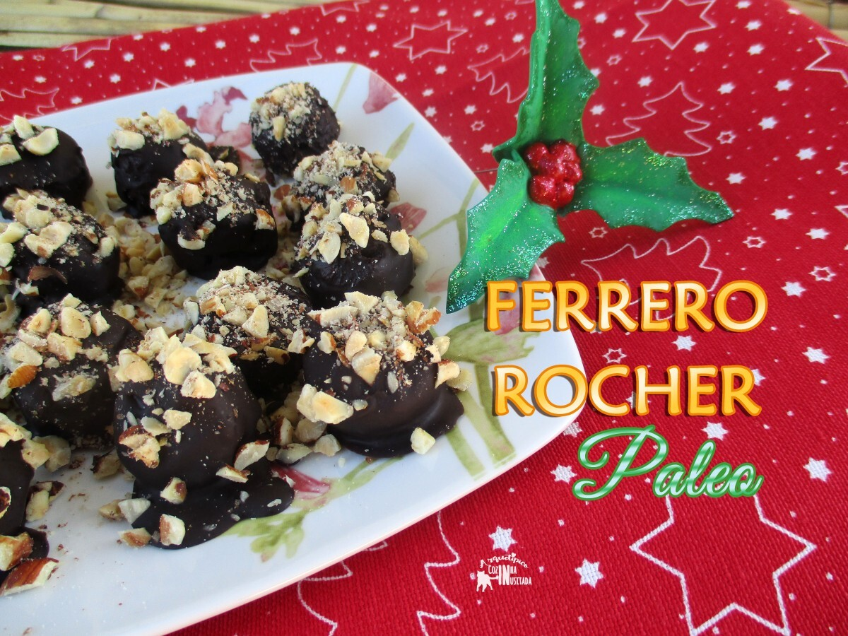 Ferrero Rocher Paleo & Chocolate Caseiro de Manteiga de Cacau | Homemade Cacao Butter Chocolate