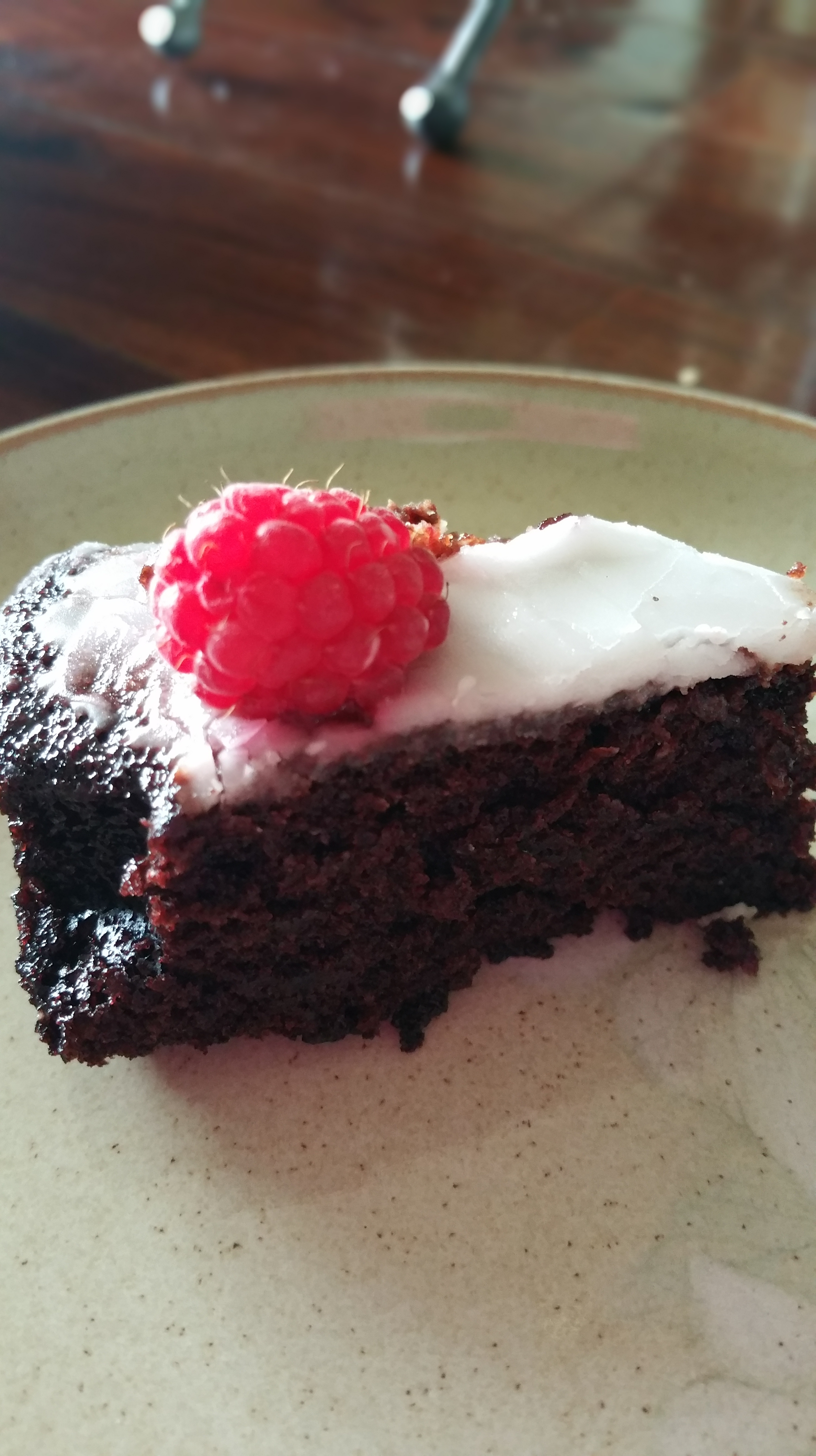 Dairy & Egg Free Chocolate Cake