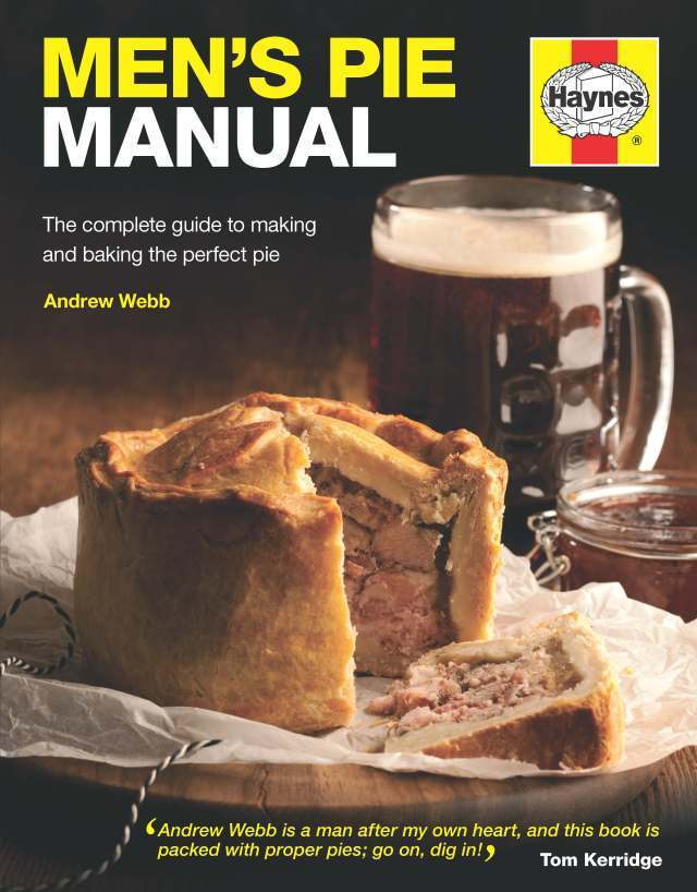 Bangin' books: Men's Pie Manual, plus a hearty oxtail and beef cheek pie