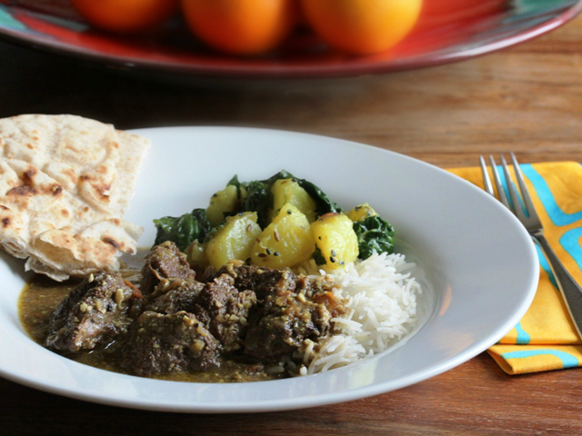Malaysian curry with Welsh lamb for National Curry Week