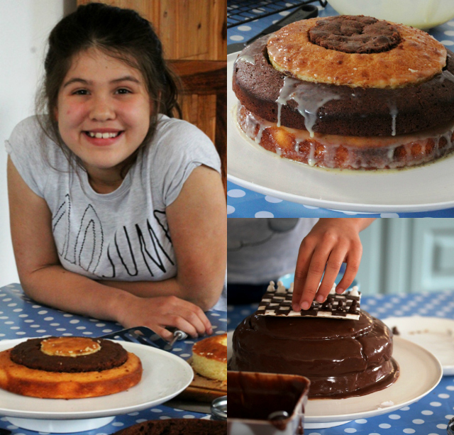 Jessie's chocolate orange chess cake