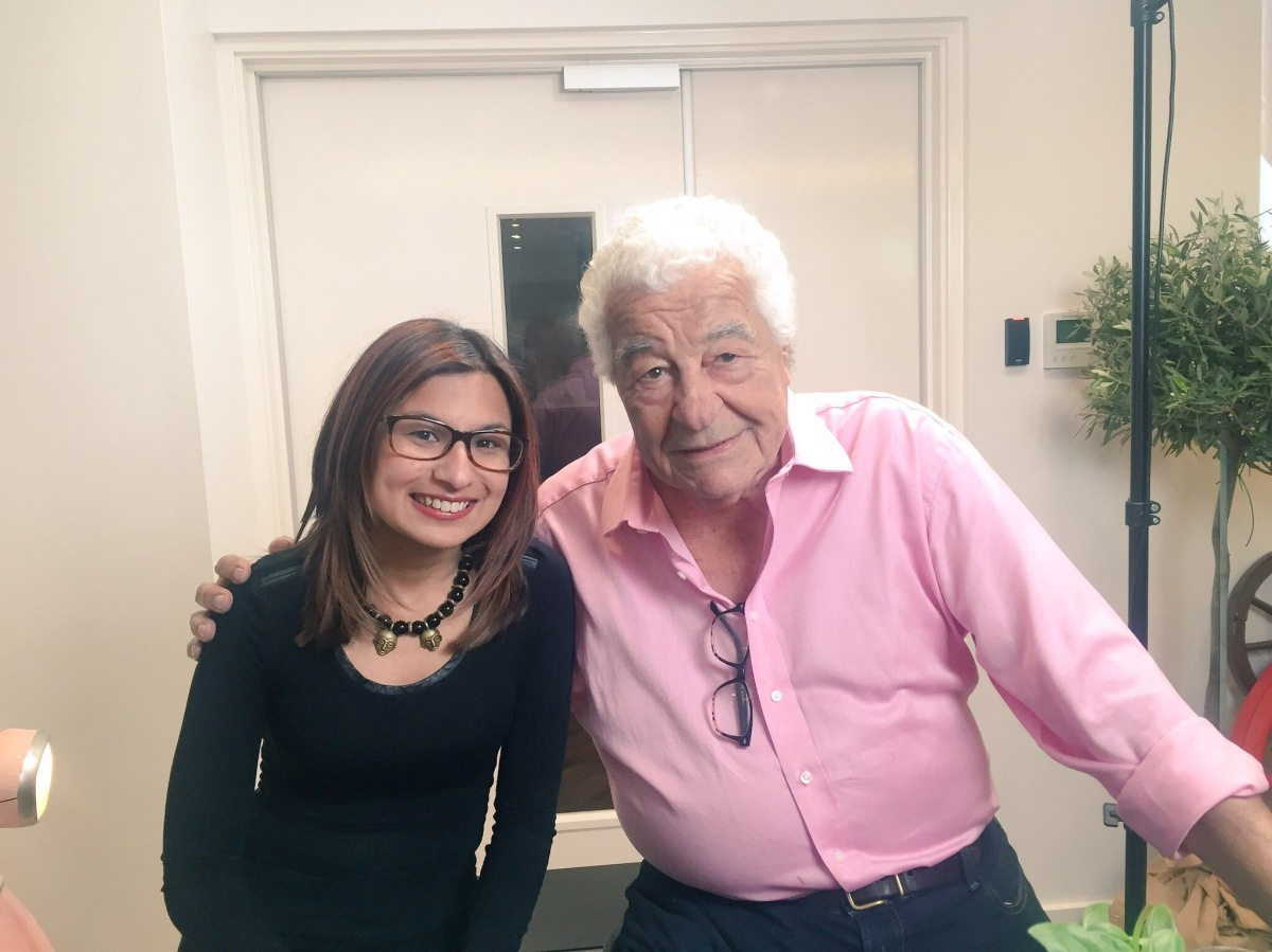 Meeting and Interviewing the legendary Antonio Carluccio, OBE