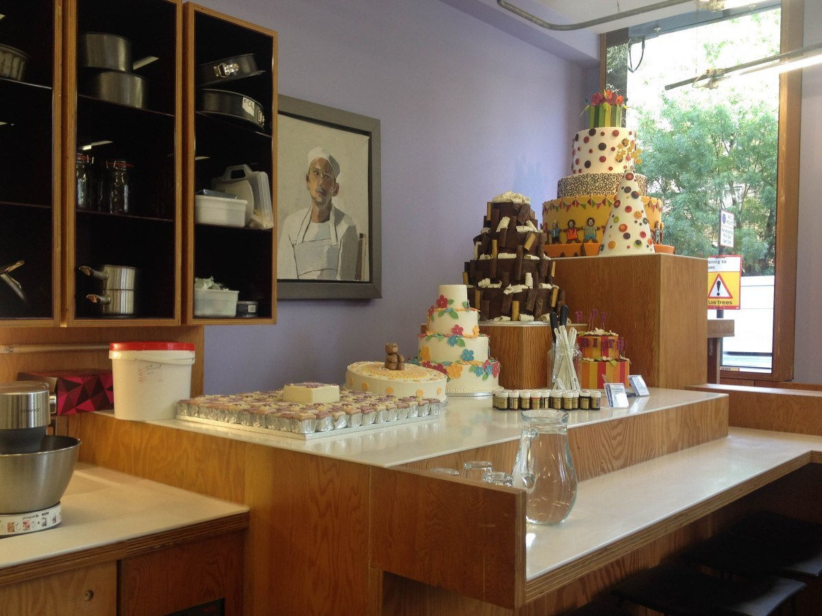 Review: Konditor & Cook Cake School, All About Sponge
