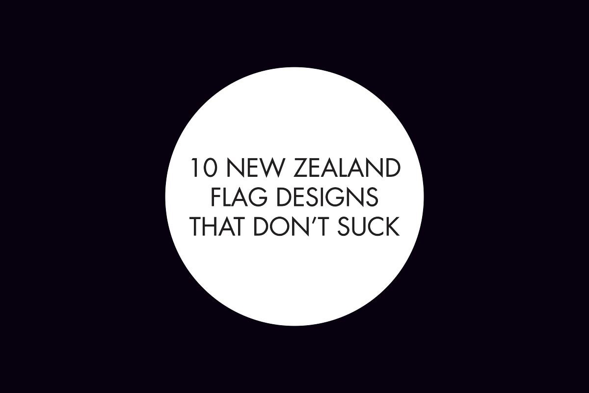 10 New Zealand flag designs that don't suck