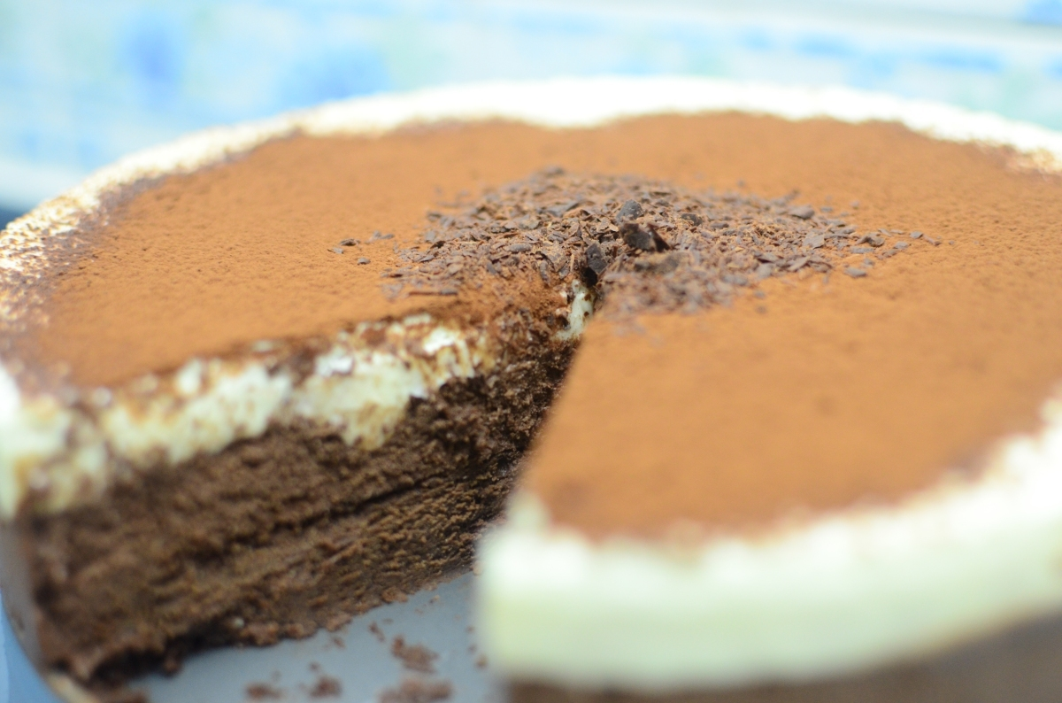 Triple Chocolate Mousse Cake recipe + Guest post at Ang Sarap