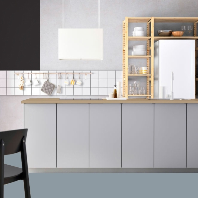 Kitchen Plans: Wall – Floor – Lights
