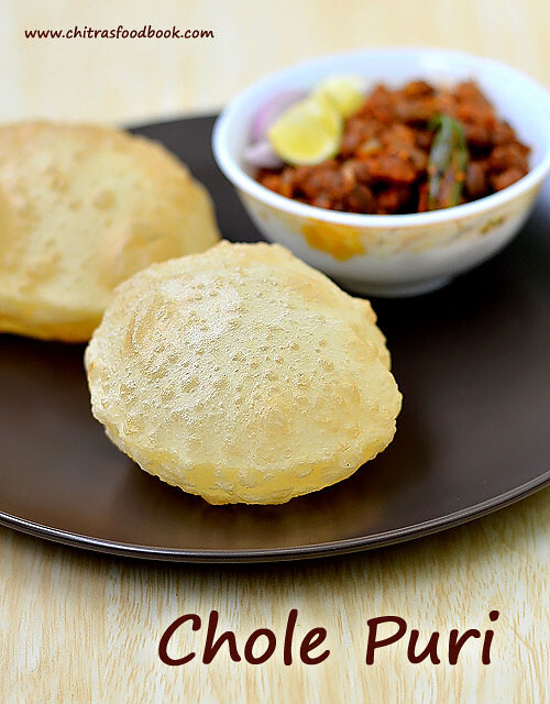 Chola Poori Recipe – How To Make Chola Puri