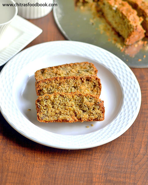 Eggless Banana Cake Recipe – Vegan Cake Recipes