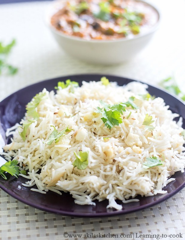 Paneer and Jeera Pulao | Indian Pulao Recipes