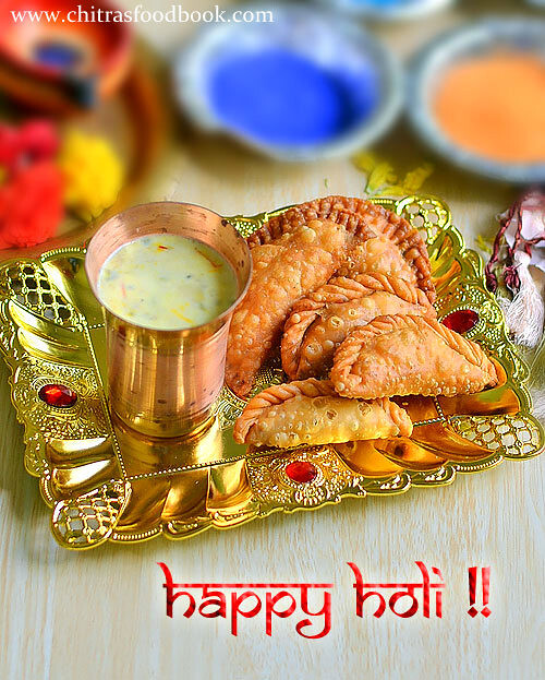 Gujiya Recipe – Holi Recipes