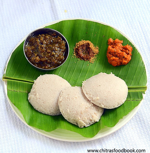 Red Rice Idli Dosa Recipe – Healthy Idli Varieties