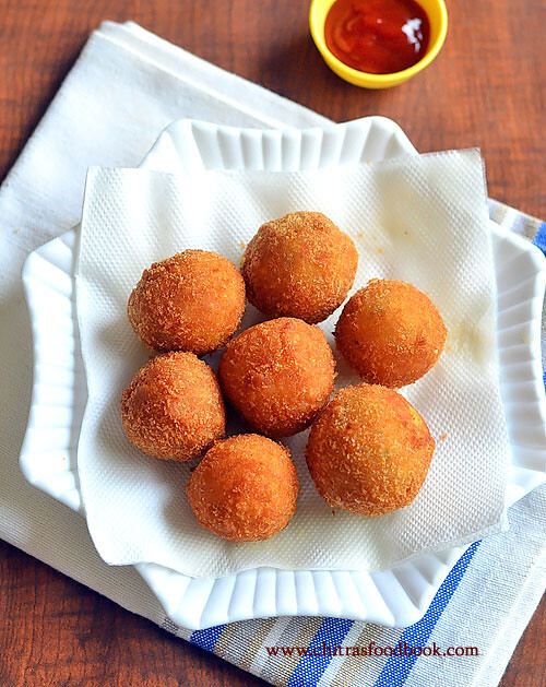 Crispy Corn Cheese Balls Recipe – Party Snacks Recipes